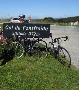 Road bike hire cycling France